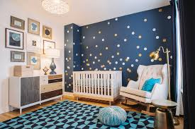 baroque owl wall decals in nursery transitional with teenage