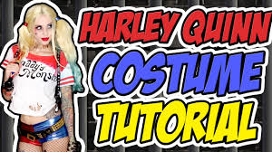 harley quinn squad costume tutorial halloween 2015