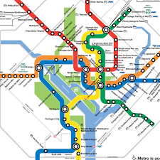 the metro map project washington dc metro diagram redesign cameron booth