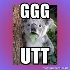 Ggg Meme Generator - ggg utt koala surprise meme generator