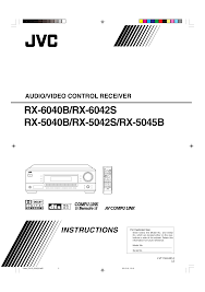 download free pdf for jvc rx 6042s receiver manual