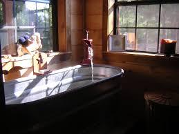cowboy bathroom ideas horse trough tubanother angle cowboy decor farm house bathroom