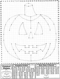 math activity pumpkin coordinate graphing picture ordered pairs