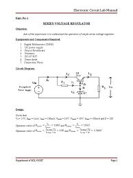 ec lab manual 08 407 amplifier electronic oscillator