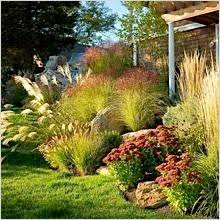 landscaping with ornamental grasses lake house landscape with