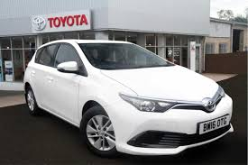 used toyota auris active for sale motors co uk
