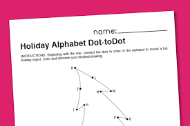 connect the dots christmas tree christmas lights decoration