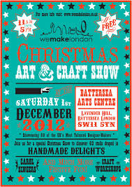 london pop ups we make london christmas art and craft show in