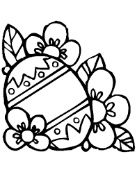easter eggs coloring pages for kids and adults