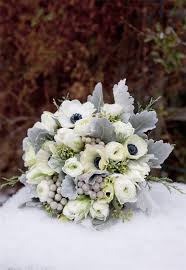 Wedding Flowers Blue And White 35 Amazing Winter Wedding Bouquets You U0027ll Love Deer Pearl Flowers
