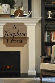 just so lovely a fireplace tutorial