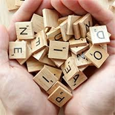 amazon com scrabble tiles 100 letter tiles toys u0026 games
