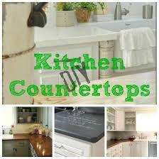 diy kitchen countertop ideas 10 great diy kitchen countertops