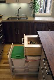 contemporary kitchen compost bins kitchen modern with compost