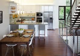 cuisine ouverte moderne la cuisine ouverte sur la salle à manger 55 photos archzine fr