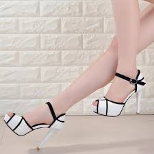black and white high heel shoes daisy dress for less