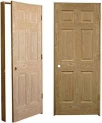 Solid Oak 6 Panel Interior Doors Quality American Heritage Oak Pre Hung Solid Wood 6 Panel Interior