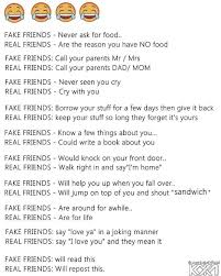Real Friend Meme - iamtrubel fake friends real friends meme meme