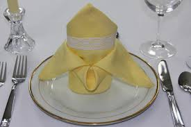napkin folding blog