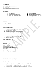 Resume Examples For Hospitality by Quality Of Service Hospitality Trainer Resume Samples