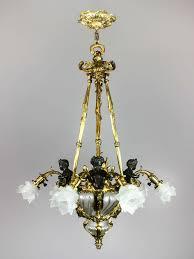Art Nouveau Lighting Chandelier Awesome Chandelier Art Nouveau Images Transformatorio Us