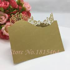 Table Name Cards by Online Get Cheap Music Place Cards Aliexpress Com Alibaba Group