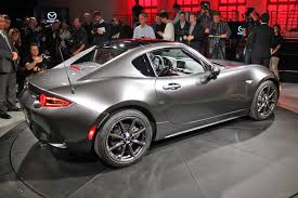 mazda coupe mazda puts a lid on it new mazda mx 5 rf revealed at 2016 new