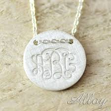 cheap monogram necklace 25 best ns single letter monogram jewelry images on