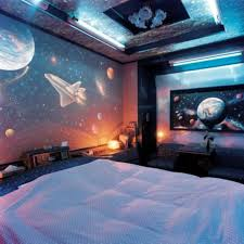 space wallpaper for rooms home design room wallpapers space