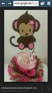 Baby Monkey Centerpieces by 93 Best Baby Shower Themes Images On Pinterest Parties Shower