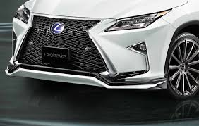 lexus parts name lexus rx u0027f sport parts u0027 upgrades revealed overseas