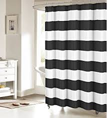 Black White Shower Curtain Black And White Chevron Shower Curtain By Shower