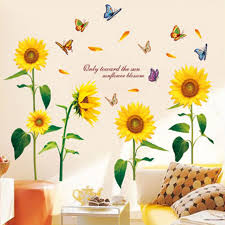 warm home decoration you are my sunshine quote wall stickers home