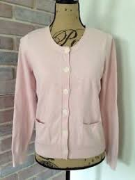 light pink cardigan sweater j jill light pink cardigan sweater long sleeve size small stretch