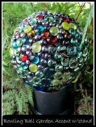 diy project bowling ball garden accent our fairfield home u0026 garden