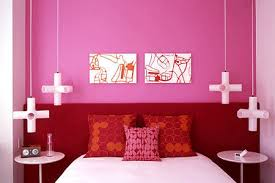 perfectly pink color bedroom walls colorful bedroom wall designs