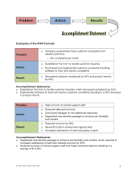 Examples Of Accomplishments For A Resume by Writing Mba Resumes