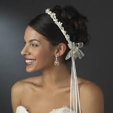 stefana crowns flower pearl stefana wedding crowns