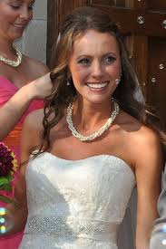 pearl necklace wedding images Bridal twisted pearl necklace for a sweetheart neckline amanda png