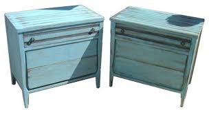 Shabby Chic Dressers by Blue Painted Shabby Chic Dressers A Pair 600 Est Retail