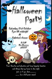 party invitation sayings halloween free halloween invitation