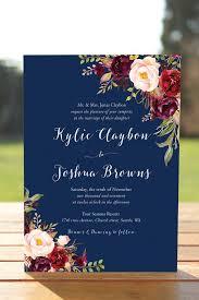 Navy Blue Wedding Invitations Wedding Invitations Reduxsquad Com
