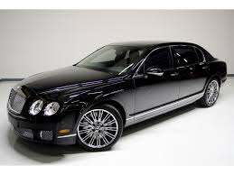 bentley continental flying spur black 2013 bentley continental flying spur speed for sale in nashville