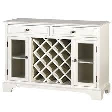 modern glass buffet cabinet htons modern 2 drawer 2 glass door wine rack sideboard buffet