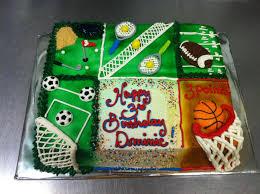 all sports u2014 birthday cakes kid parties pinterest sports