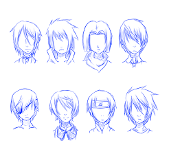 hhort haircut sketches for man anime male hair drawing at getdrawings com free for personal use