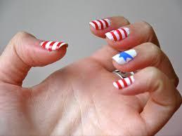 nail art american flag glamour nail salon american nail design