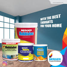 use the most trusted paint family that berger paints