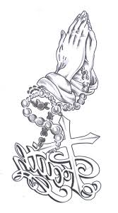praying hands with rosary beads tattoo designs best tattoo