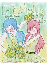 middle school yearbook monticello middle school yearbook cover maybe by